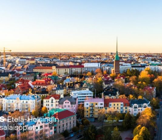 Syskyinen kuva Helsingistä